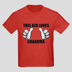 This Kid Loves Grandma T-Shirt