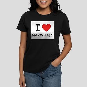 I love narwhals Ash Grey T-Shirt