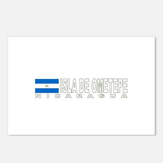 Isla de Ometepe, Nicaragua Postcards (Package of 8