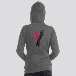 I Ride Like A Girl Women's Hooded Sweatshirt
