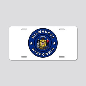 Milwaukee Aluminum License Plate