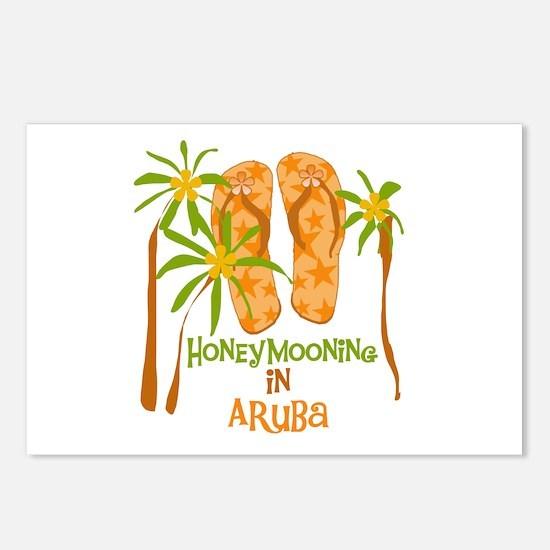 Honeymoon Aruba Postcards (Package of 8)