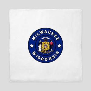 Milwaukee Queen Duvet