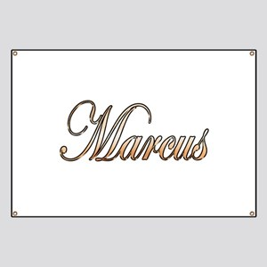 Gold Marcus Banner