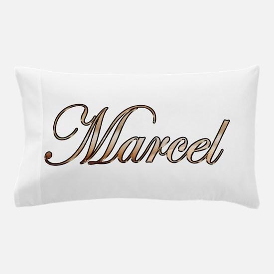 Gold Marcel Pillow Case