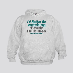 I'd Rather Be Watching The Beverly Hil Kids Hoodie