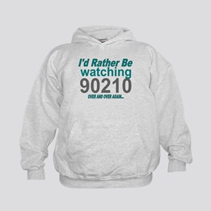 I'd Rather Be Watching 90210 Kids Hoodie