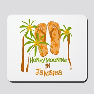 Honeymoon Jamaica Mousepad