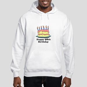 Happy 98th Birthday Hooded Sweatshirt