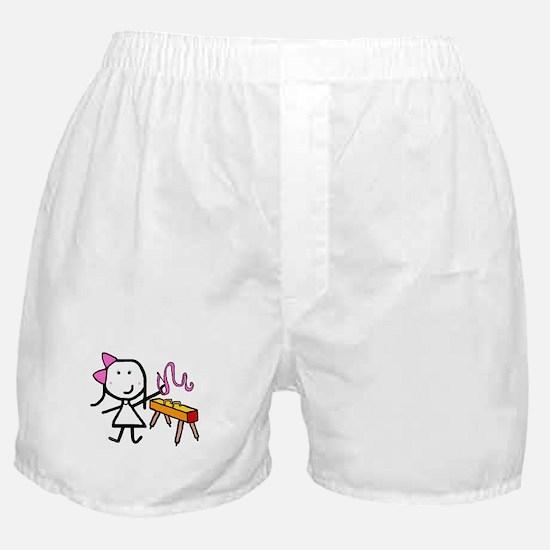 Girl & Gymnastics Boxer Shorts