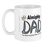 Almighty Dad Mugs