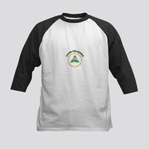 Com Islands, Nicaragua Kids Baseball Jersey