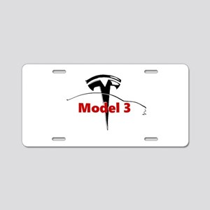 Model 3 Aluminum License Plate