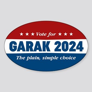 DS9 Vote Garak 2020 Sticker (Oval)