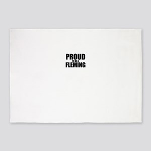 Proud to be FLEMING 5'x7'Area Rug