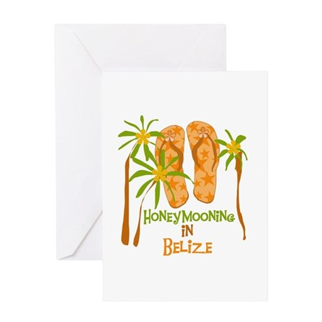 Honeymoon Belize Greeting Card