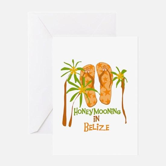 Honeymoon Belize Greeting Card