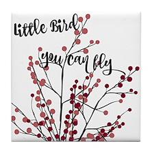 Little Bird You Can Fly Tile Coaster