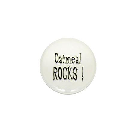 Oatmeal Rocks ! Mini Button