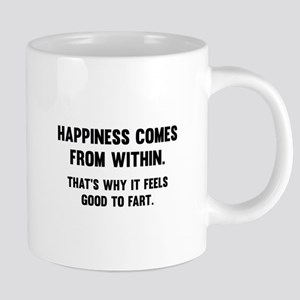 Happiness Comes From Within Mugs