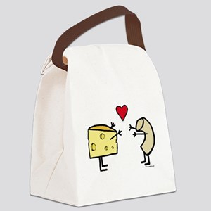 Macaroni And Cheese Love Canvas Lunch Bag
