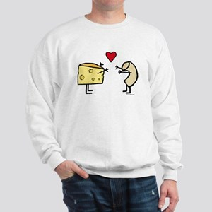 Macaroni And Cheese Love Sweatshirt