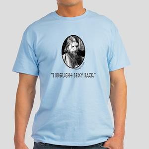 RASPUTIN Funny Fake Quote Light T-Shirt