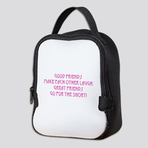 Great Friends - Snort Neoprene Lunch Bag