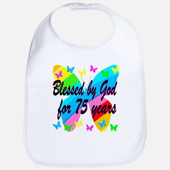 75TH PRAYER Bib