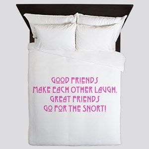 Great Friends - Snort Queen Duvet