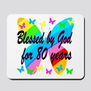 80TH BLESSING Mousepad