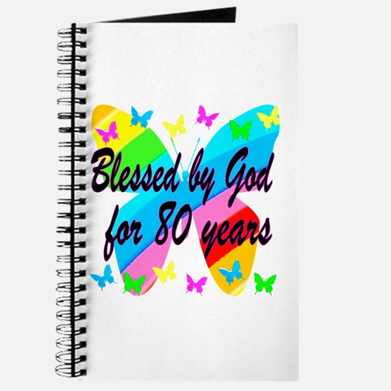 80TH BLESSING Journal