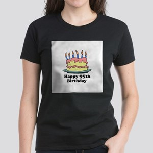 Happy 95th Birthday Women's Dark T-Shirt