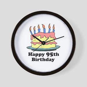Happy 95th Birthday Wall Clock