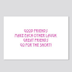 Great Friends - Snort Postcards (Package of 8)