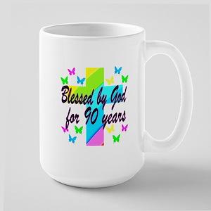 90TH PRAYER Large Mug