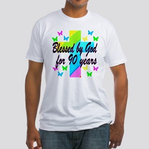 90TH PRAYER Fitted T-Shirt