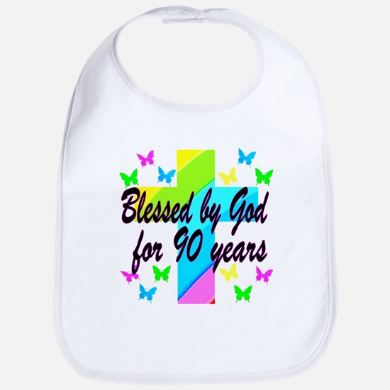 90TH PRAYER Bib