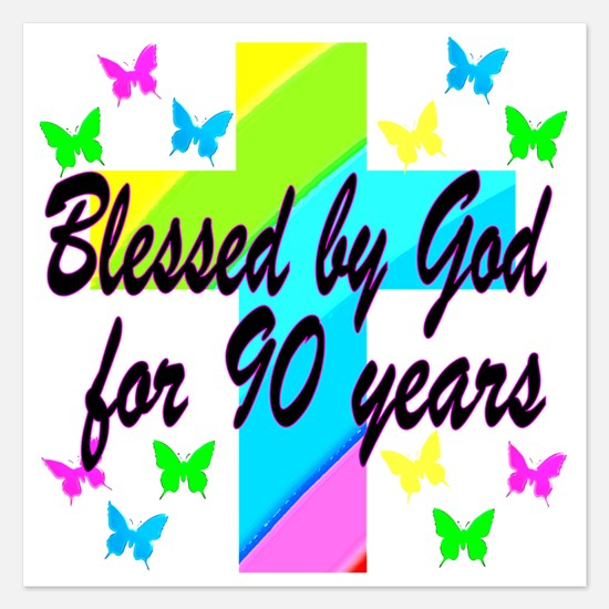 90TH PRAYER Invitations
