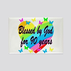 90TH PRAYER Rectangle Magnet