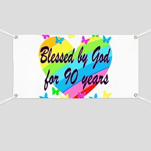 90TH PRAYER Banner