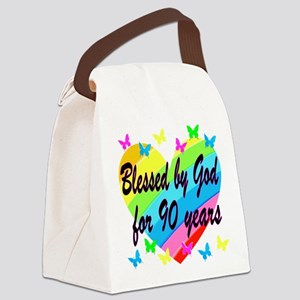 90TH PRAYER Canvas Lunch Bag