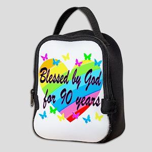 90TH PRAYER Neoprene Lunch Bag