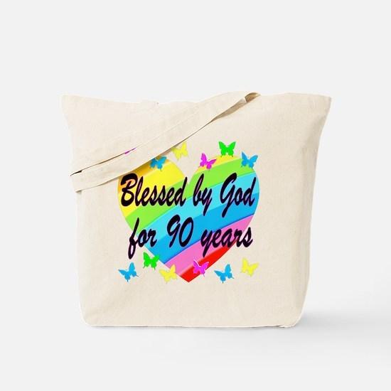 90TH PRAYER Tote Bag