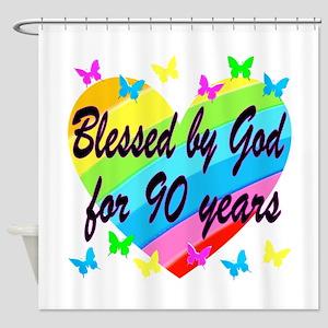 90TH PRAYER Shower Curtain