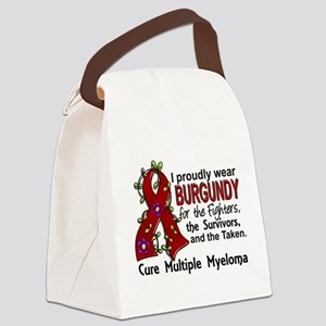 For Fighters Survivors Taken Mult Canvas Lunch Bag