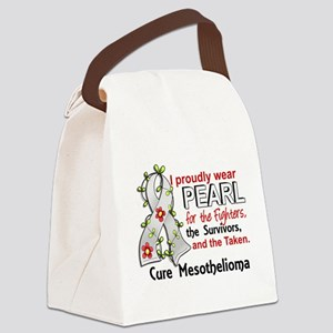 For Fighters Survivors Taken Meso Canvas Lunch Bag