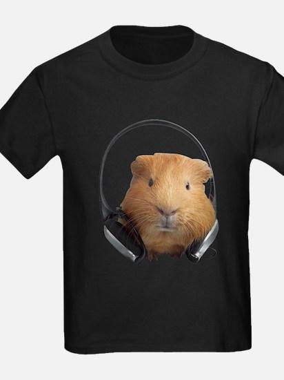 Guinea Pig Shirt - DJ Guinea Pig T-Shirt T-Shirt