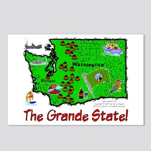 WA-Grande! Postcards (Package of 8)