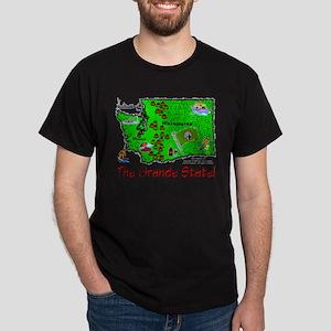 WA-Grande! Dark T-Shirt